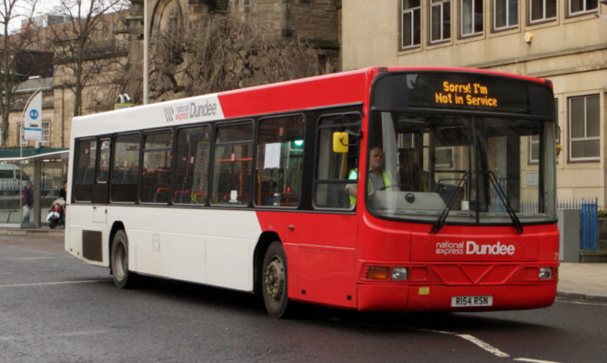 National Express operations throughout the UK were hit by the withdrawal of a concessionary travel scheme.