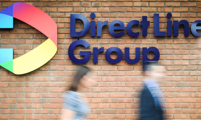 Direct Line increased the number of policies in force by 1.% last year