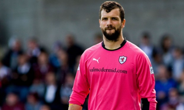 Kevin Cuthbert, one of those nearing a return for Raith Rovers