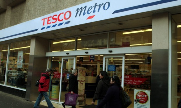 The Tesco Metro store in South Street.