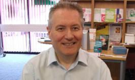 Author Gordon Anthony.