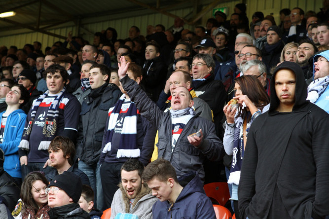 Crowds shots from Tannadice as United and Dundee fought out a 1-1 draw on March 17. To buy any DC Thomson photo phone 0800 318846 or email webphotosales@dcthomson.co.uk