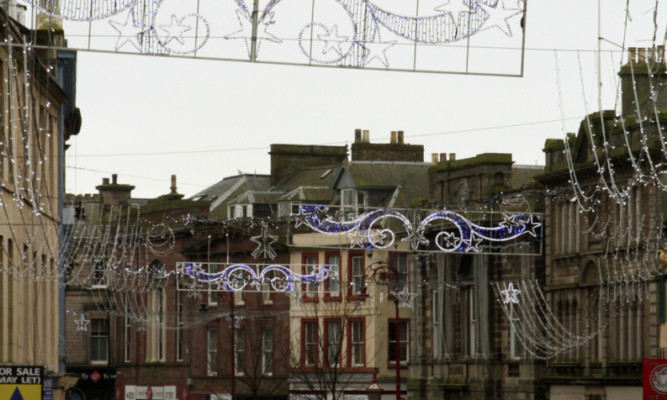Locals want to ensure Arbroath continues its annual tradition of taking part in festive celebrations.