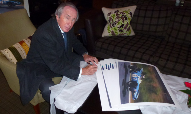 Sir Jackie has signed limited edition versions of the image.