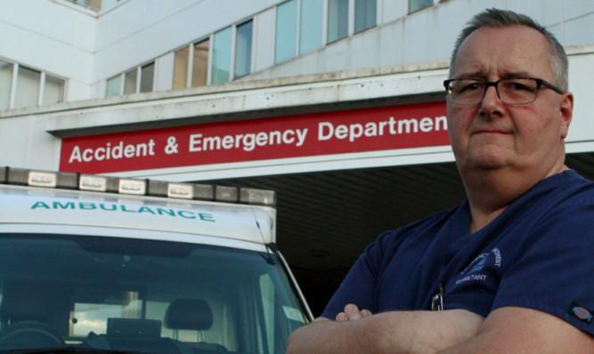 Ninewells A&E consultant Dr Barry Klaassen.