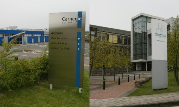 Carnegie College and Adam Smith College are to merge.