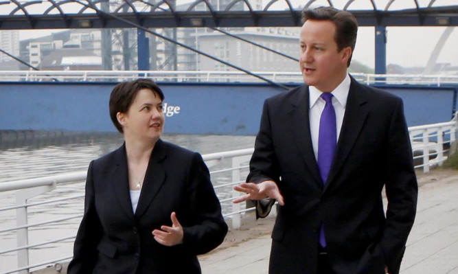 Prime Minister David Cameron and Ruth Davidson will speak at the event.