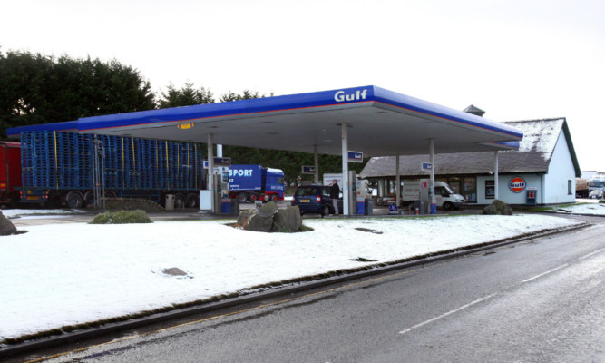 Diesel Gas Station Near Me >> It S Blatant Profiteering Stracathro Service Station