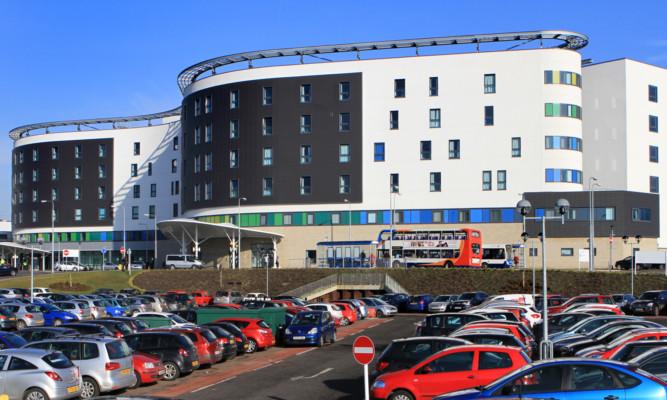 Victoria Hospital in Kirkcaldy.