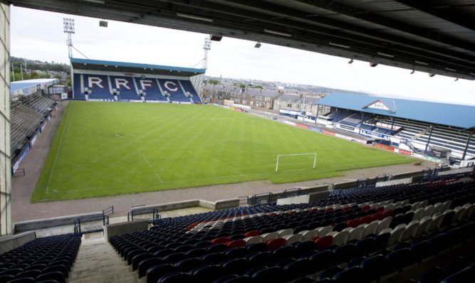 Stark's Park, home of Raith Rovers