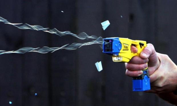 A Taser stun gun.