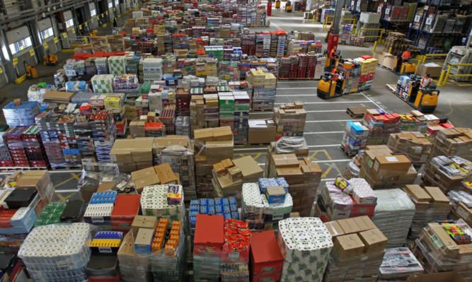 Lidl's Livingston distribution centre