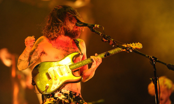 Biffy Clyro were one of the headliners at last year's event at Balado.