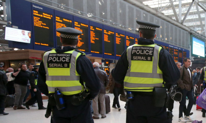 Fans have been told to expect a high police presence around the ground and on public transport.