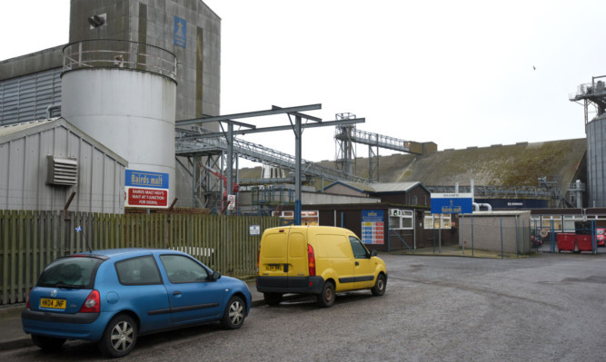 Bairds Malt wants to put up a turbine at its plant at Elliot Industrial Estate in Arbroath.