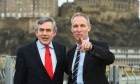 Pointing the way ahead? The SNP say Jim Murphy has been sidelined by Gordon Brown after only 50 days as Labour chief.