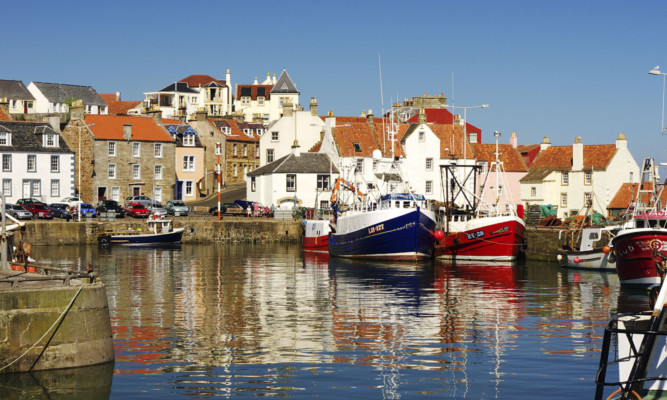 Pittenweem's name stems from Gaelic and means place of the cave.