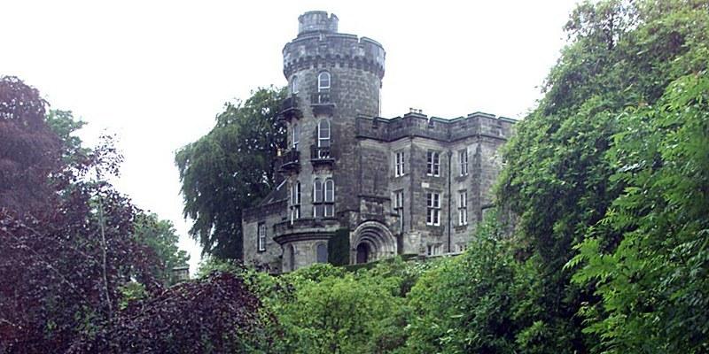 The Hidden Gardens of Culross.  Dunimarle Castle, Culross.