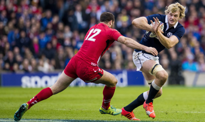 Scotland's Richie Gray will miss the rest of the Six Nations.