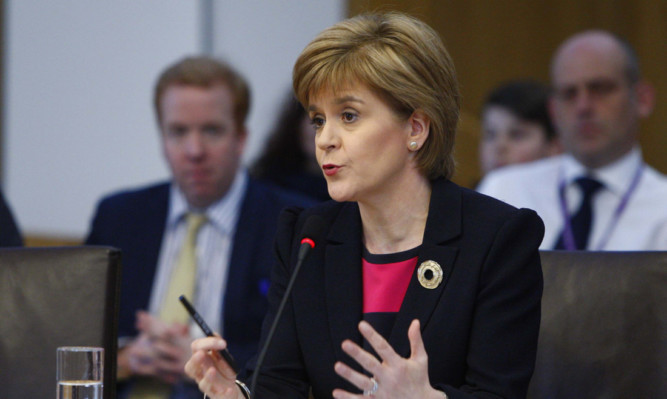 First Minister Nicola Sturgeon has joined Labour and the Scottish Greens in calling for the NHS to be protected