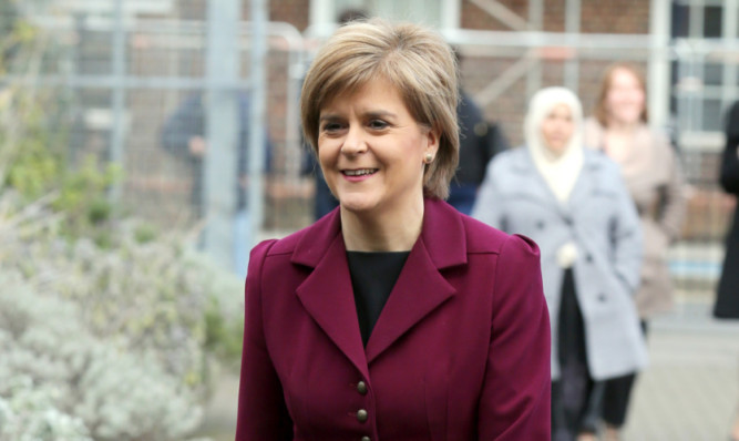 SNP leader Nicola Sturgeon will visit East Lothian.