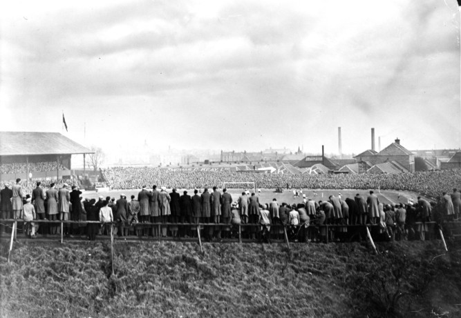 It may be looking its age in parts of the ground nowadays but the home of Dundee FC has changed quite a lot over the past few decades. Crowds numbering tens of thousands were not an unusual sight at Dens Park in the 1950s. To buy any of these photos please phone the DC Thomson shop on 0800 318846 or email webphotosales@dcthomson.co.uk.