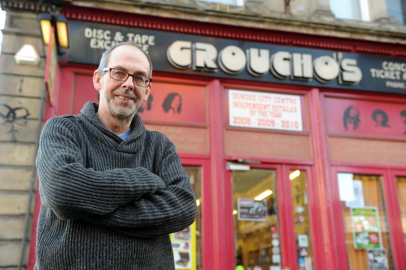Gordon Robbie Evening Telegraph Breeks Brodie at Groucho's Dundee