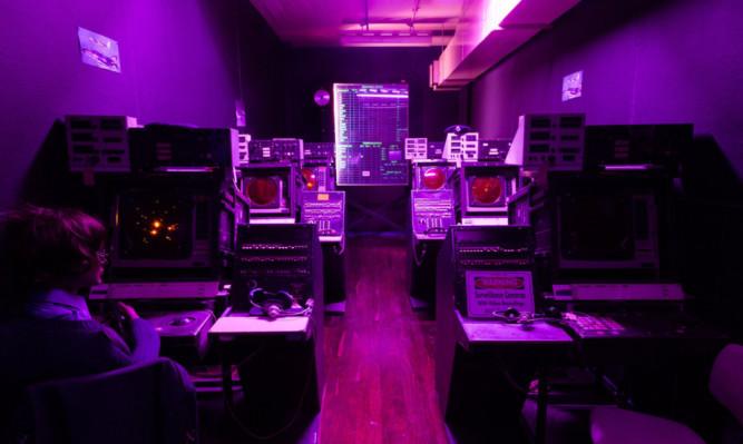 Inside the Secret Bunker.
