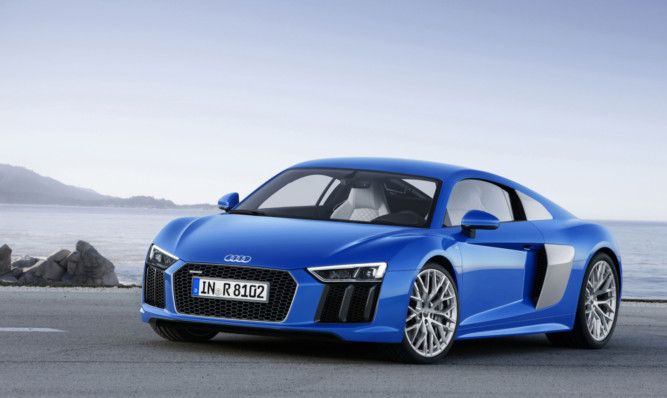 The second generation Audi R8 will be capable of up to 205mph.