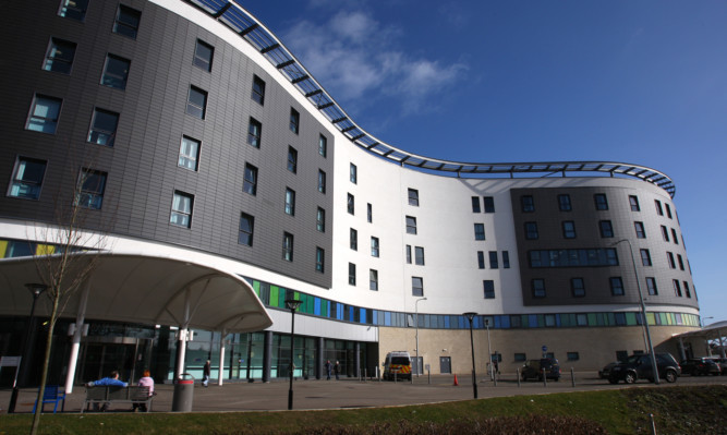 Victoria Hospital, Kirkcaldy, where inspectors raised concerns over the cleanliness of the A&E department.