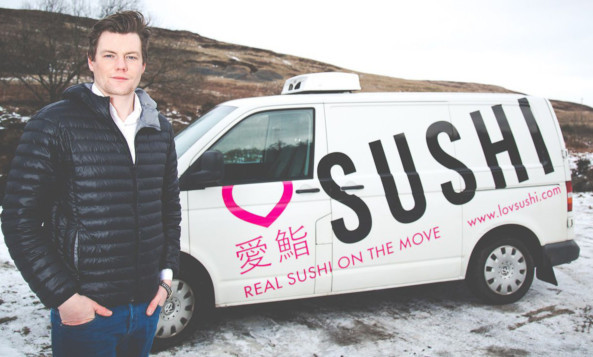 Ross Brown reveals the story behind LovSushi.