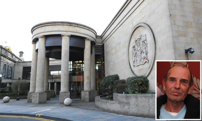 The members of the gang who tortured Ian Masterton (inset) have been sentenced at the High Court in Glasgow.