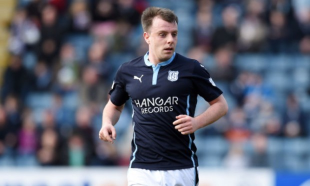 Paul McGowan in action for Dundee