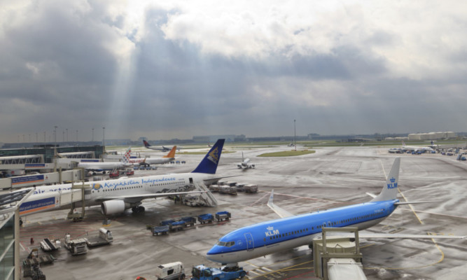 Schiphol is one of the world's major connecting airports.
