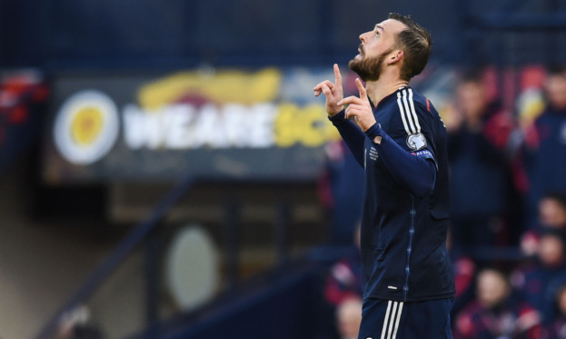 Steven Fletcher was glad to get back on the goal trail
