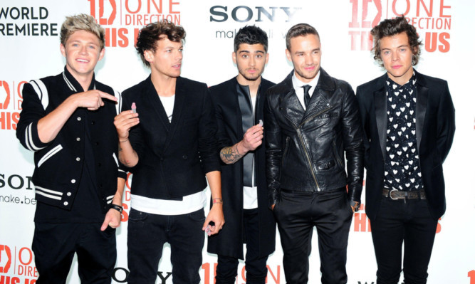 The band have spoken out to quash rumours they are set to split up in the wake of the departure of Zayn Malik (centre).