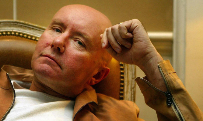 Irvine Welsh will be in Dundee on April 12.