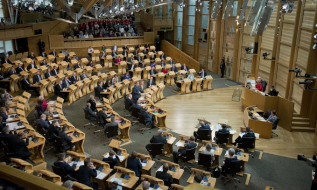 The poll shows a split in support for transferring more power to the Scottish Parliament.