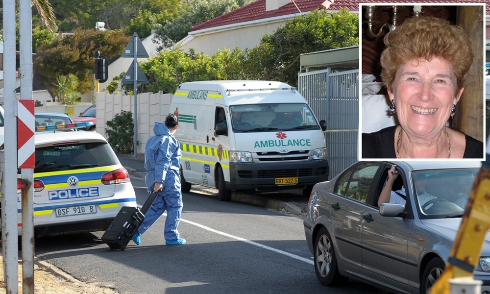 Cape Town:19/04/15  Woman Body was found inside the house in Lakeside Picture Leon Knipe