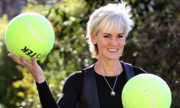 Judy Murray in Dundee earlier this year.