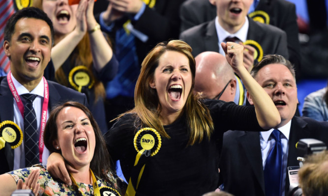 David Cameron's hopes of 'uniting the nation' face a severe challenge from the SNP surge.