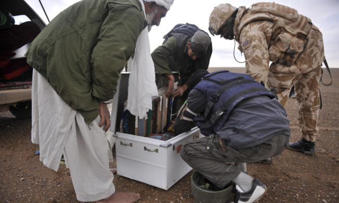 Interpreters played a vital role in supporting British troops during the effort in Afghanistan.