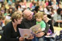 Hundreds of children and their parents gathered for what they hope was the worlds biggest story time. It is thought the Fife Big Read may just have fallen short of the Guinness World Record of 427 parents reading to their children simultaneously, but it did help Fife Council promote the benefits of storytelling in the early years.