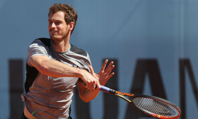 Andy Murray said his draw for the French Open is certainly not easy.