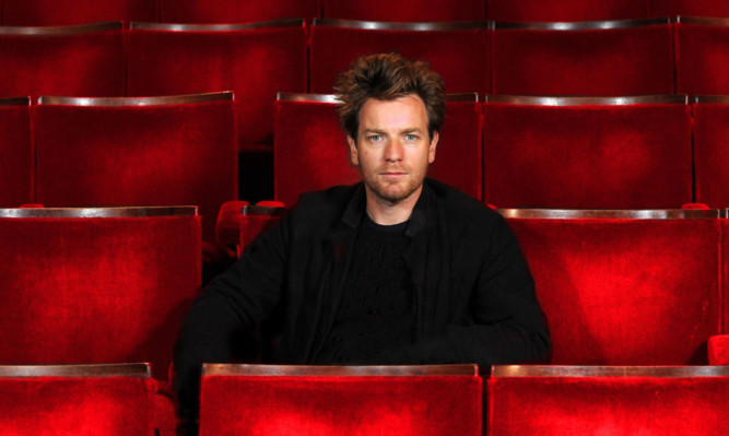 Arts and the man: Ewan McGregor will front the campaign.