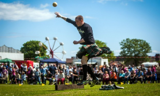 Having a ball: the games will return to John Dixon Park early next month.