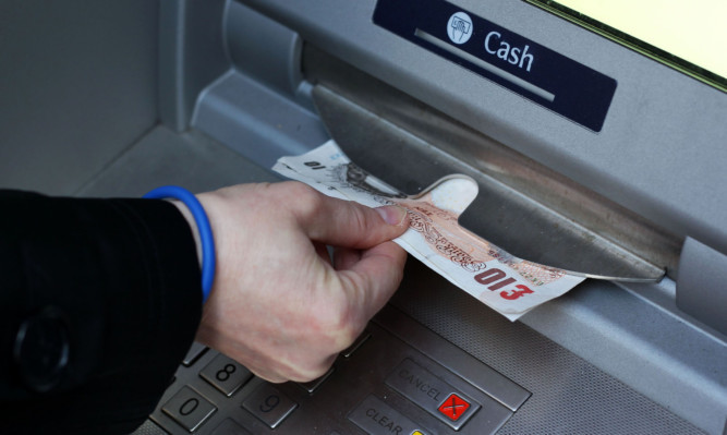 Police are urging the public to be vigilant after the devices were found on cash machines in Scone and Errol.