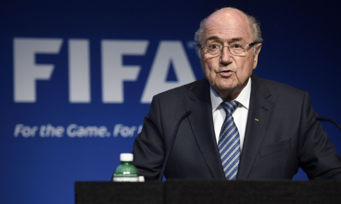 FIFA President Sepp Blatter says he will resign from his position amid corruption scandal.