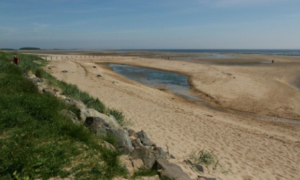 Monifieth beach, one of the sites that needs to ensure water quality is safe, according to one group.