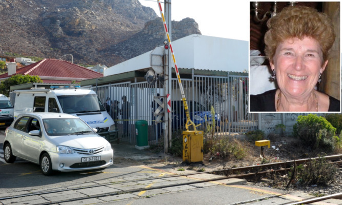 The remains of Sandra Malcolm were found in her Cape Town home.